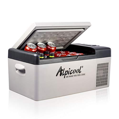 Alpicool C15 15 litros Mini Nevera de Coche portátil Eléctrica...