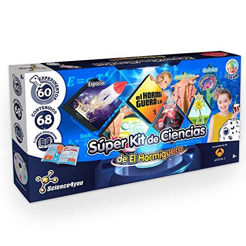 Science4you-Super Kit de Ciencias de El Hormiguero – Juguete...