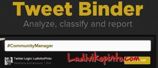 Tweet Binder Community Manager Ludiviko Pinto