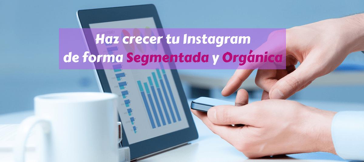 Crecimiento orgánico en instagram