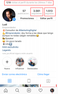 Crecer seguidores en instagram
