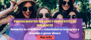 Ser influencer en instagram