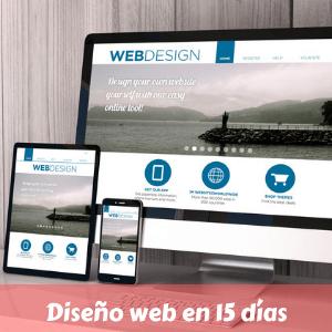 Diseño web en 15 días