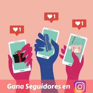 Gana seguidores en Instagram