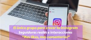 grupo de instagram