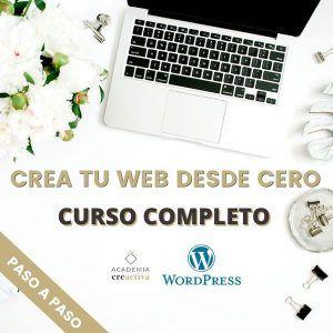 Crea tu Página Web en WordPress desde 0