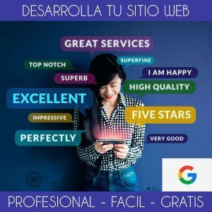 Crea tu Sitio Web Profesional. Hosting gratis con Google