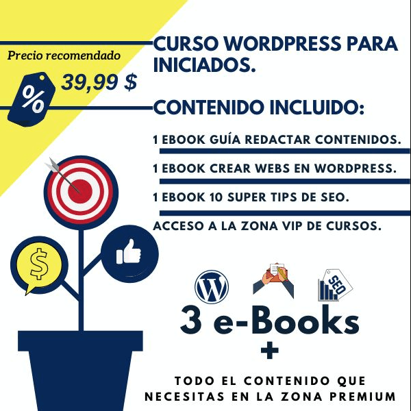Zona de Cursos WordPress y Marketing Digital