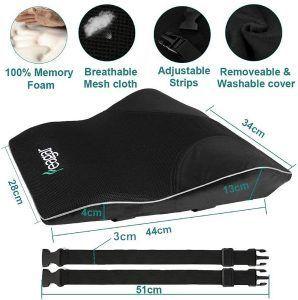 Feagar Cojin Lumbar Coche con Esponja Memoria características