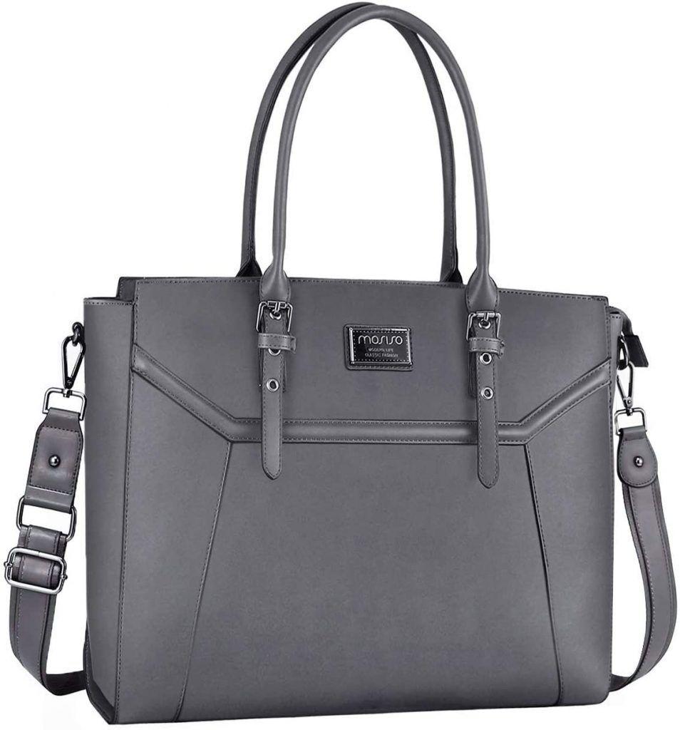 Maletín Bolso de Mano con Grueso Compartimiento maletines de trabajo