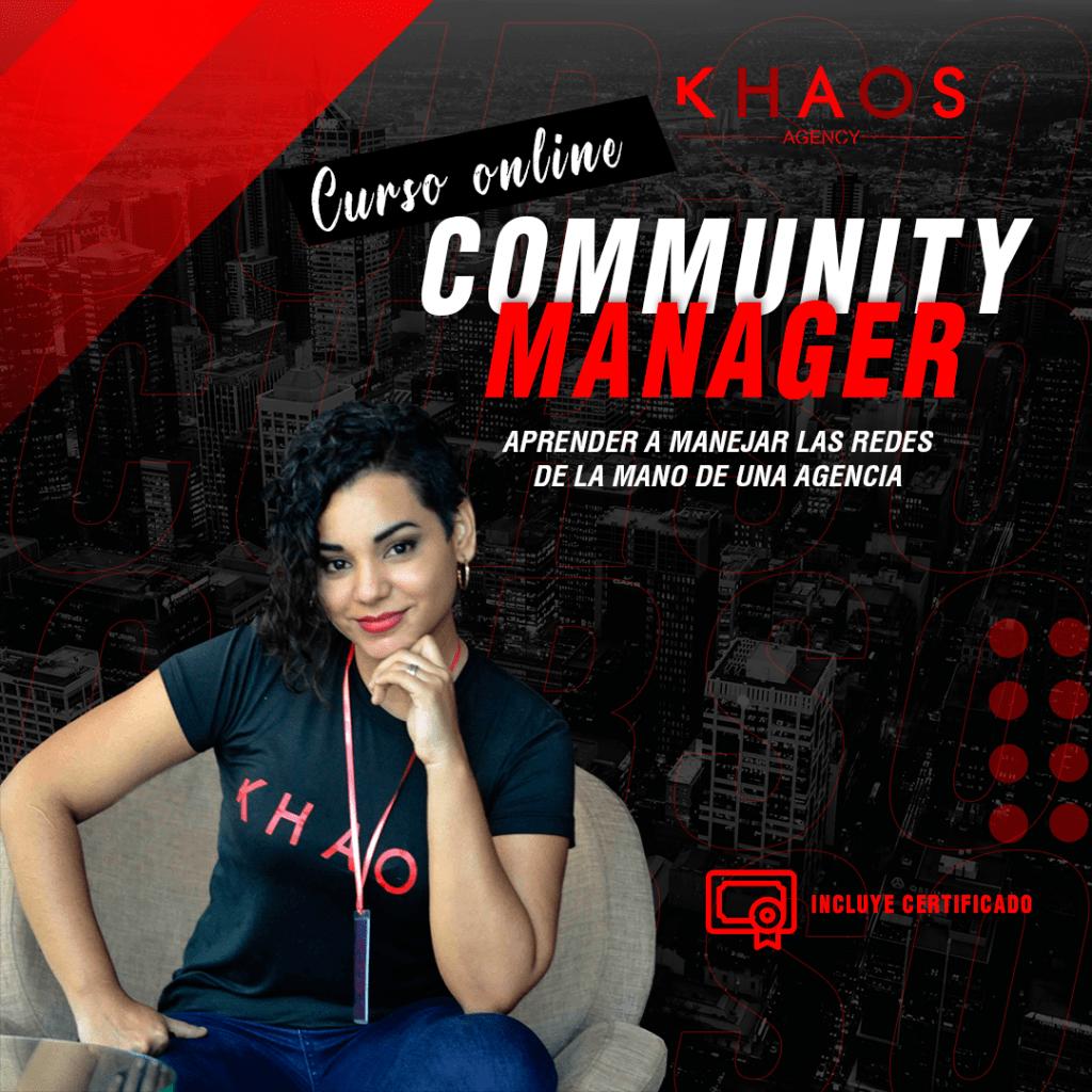 CURSO COMMUNITY MANAGER Khaos Angency