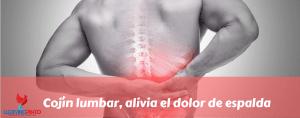 Cojín lumbar, alivia el dolor de espalda