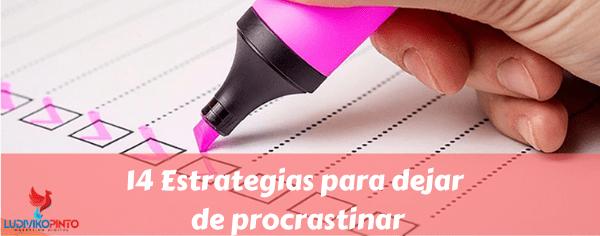 Estrategias para dejar de procrastinar (1)