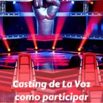 Casting de La Voz, como participar