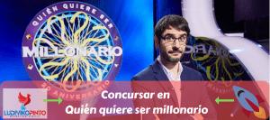 Concursar en quien quiere ser millonario