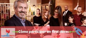 Cómo participar en first dates